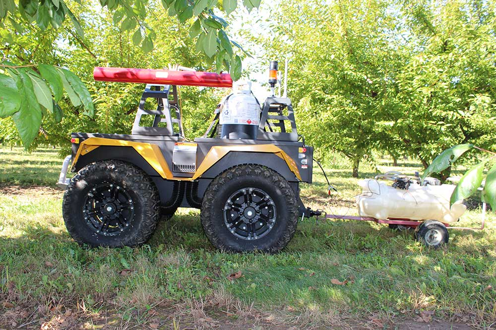 grizzly ruv precision agriculture